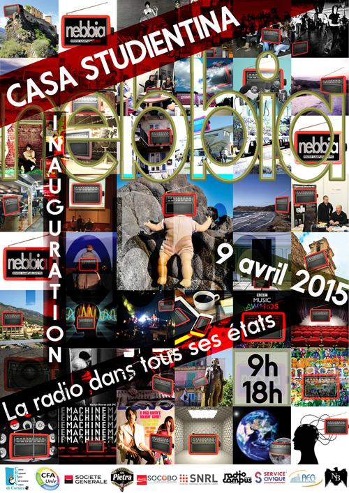 Affiche inauguration Nebbia 9 avril